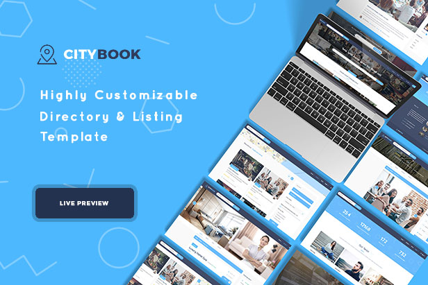 Citybook -Directory & Listing Template